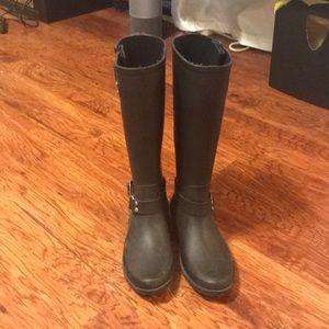 Lands 'End rain boots